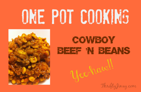 Cowboy Beef and Beans Recipe