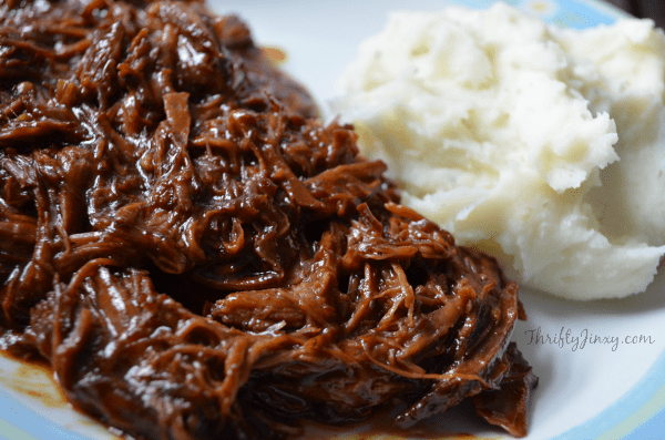 Easy Slow Cooker BBQ Beef Recipe