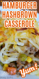 Hamburger Hashbrown Casserole