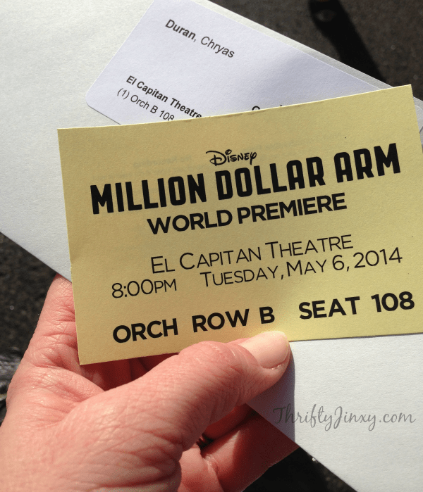 Million Dollar Arm Premiere