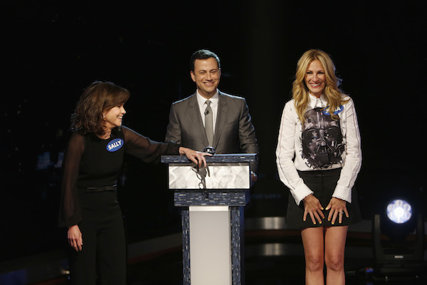 "Guests Sally Field and Julia Roberts participate in the first-ever ""Celebrity Curse-Off."" Photo courtesy of ABC."
