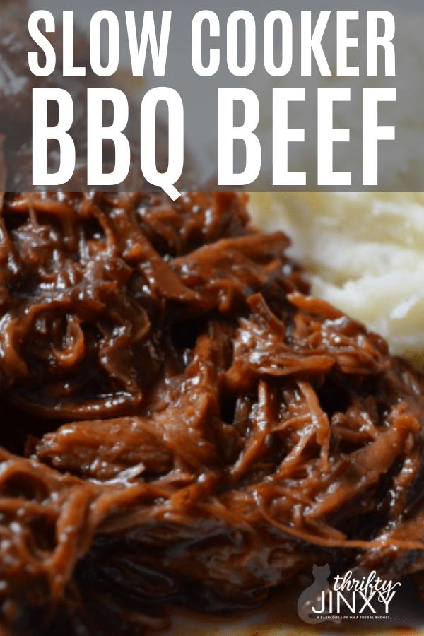 Slow Cooker BBQ Beef