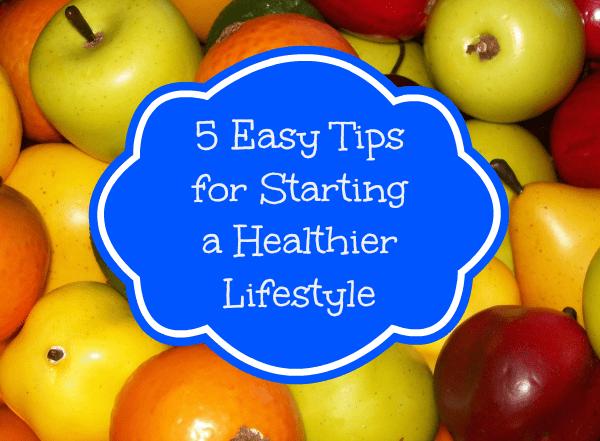 tips healthier lifestyle