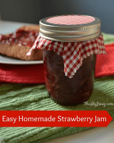 Easy Strawberry Jam Recipe