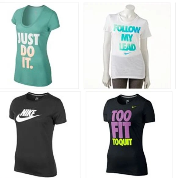Kohls Women's Nike Shirts