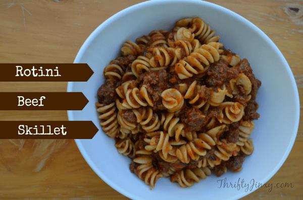 Rotini Beef Skillet Recipe