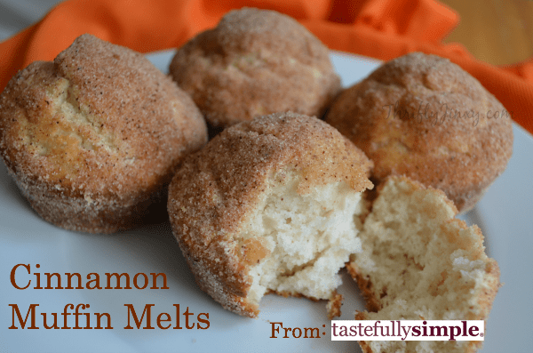Tastefully SImple Cinnamon Muffin Melt Mix Review