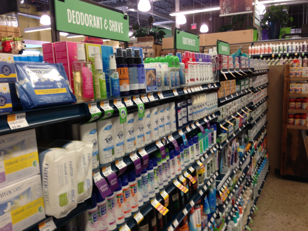 Tom's of Maine Deodorant at Whole Foods