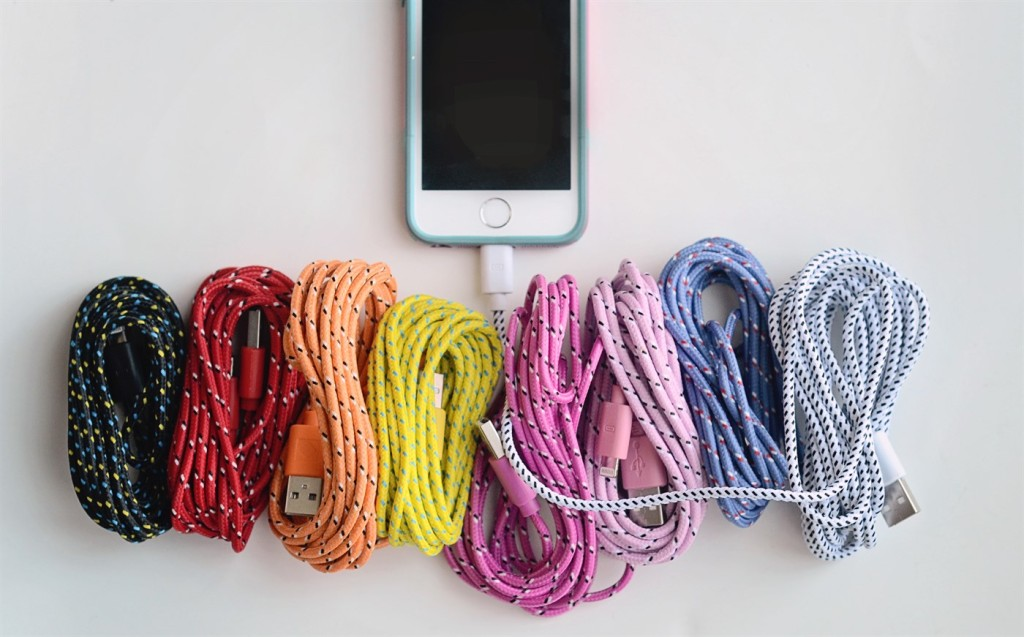 jane iphone 5 braided cable