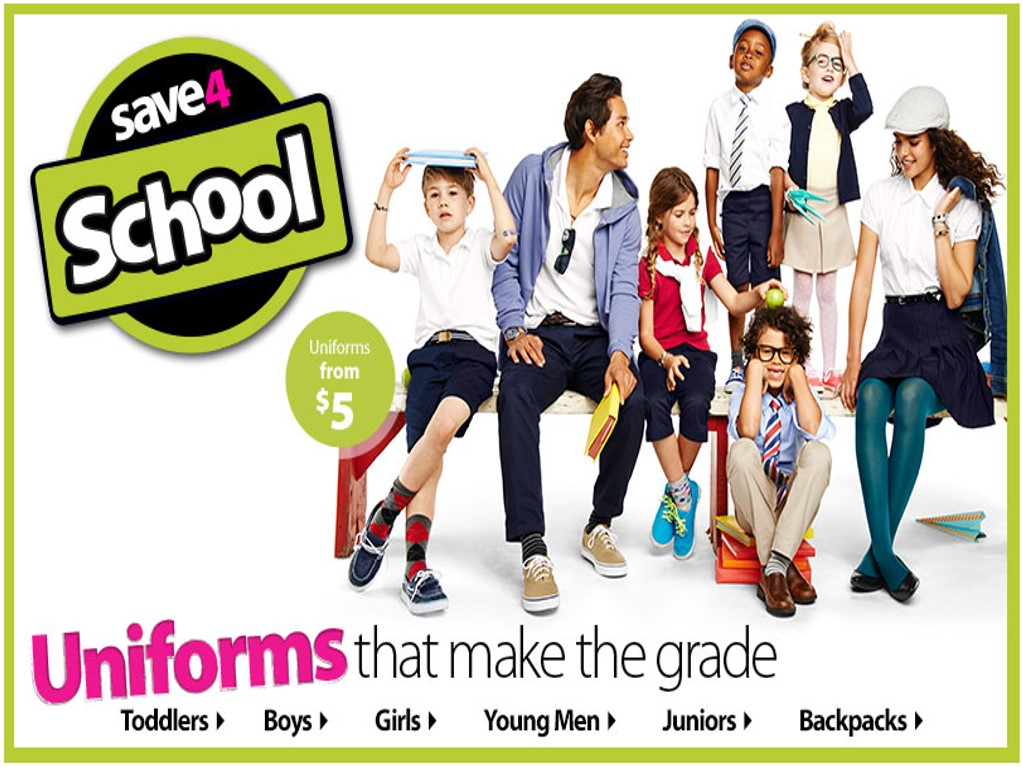 walmart school uniforms sale