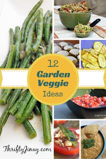 12 Recipe Ideas for Excess Garden Veggies