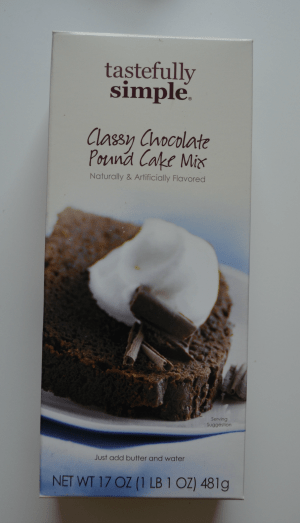 Classy Chocolate Pound Cake Mix