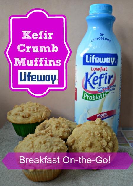 Kefir Crumb Muffins Recipe