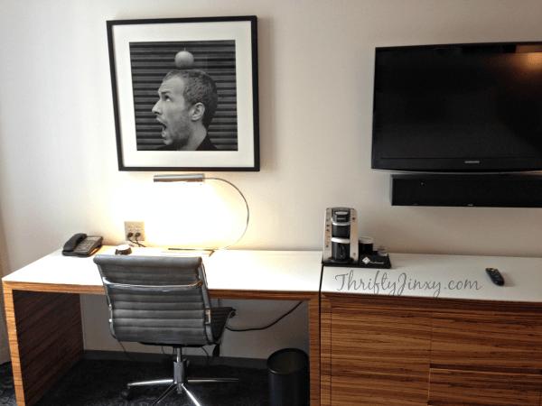 Hard Rock Hotel Chicago Workspace