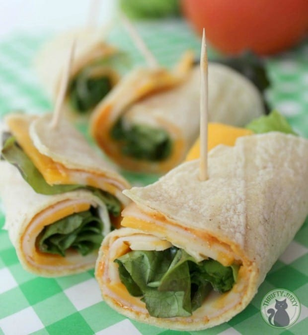 Southwest Turkey Sandwich Wrap