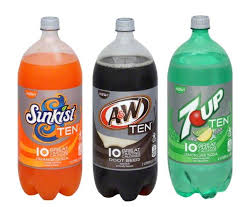 TEN sodas