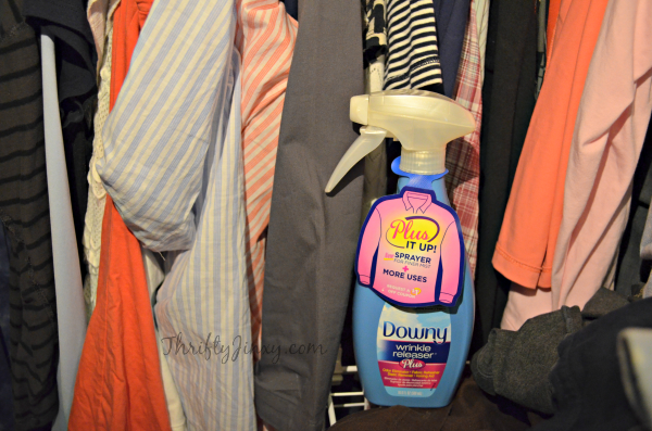 Downy Wrinkle Releaser Closet