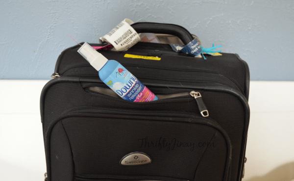 Downy Wrinkle Releaser Travel