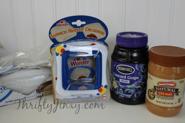 PB&J Uncrustables Ingredients