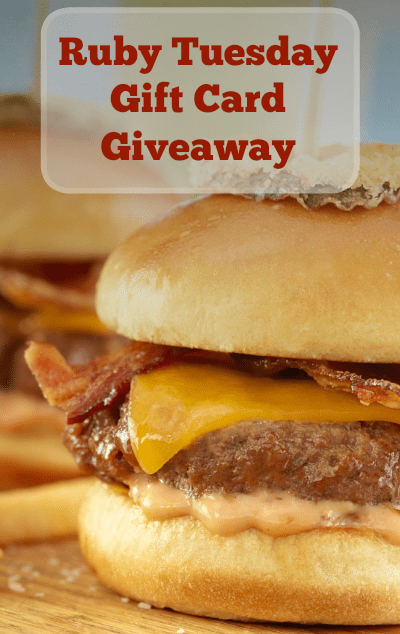 Ruby Tuesday Gift Card Giveaway