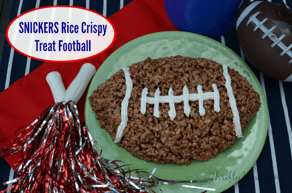 SNICKERS Rice Crispy Treat Football #Chocolate4TheWin #shop