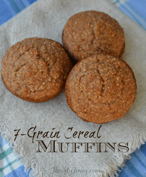 7-Grain Cereal Muffins Recipe