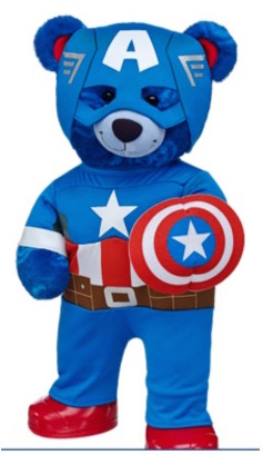Captain America Build-a-Bear