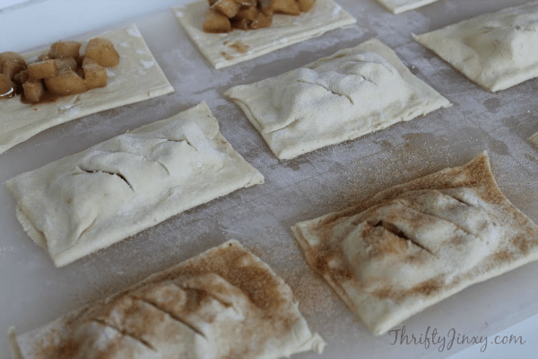 Copycat McDonalds Apple Pies Recipe Process