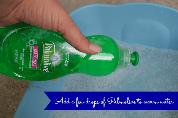 How to Clean Tools with Dish Soap 1