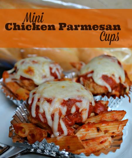 Mini Chicken Parmesan Cups