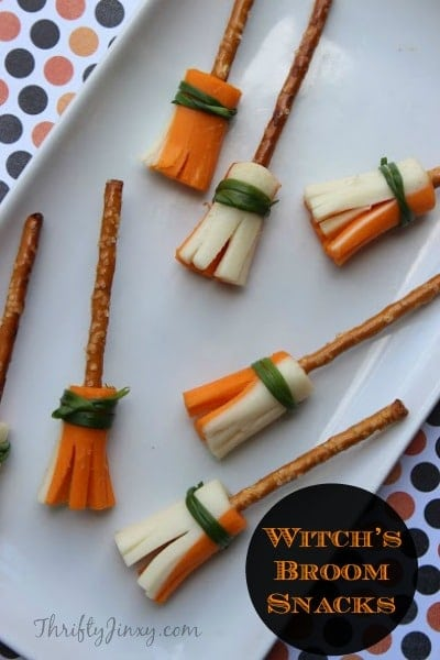 Witch's Broom Snacks