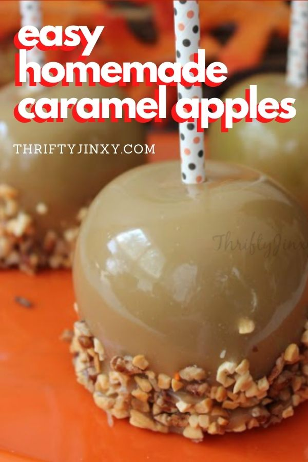 Easy Homemade Caramel Apples Recipe