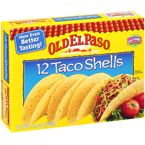 1 3 Old El Paso Products Coupon 39 Each At Walmart Thrifty Jinxy