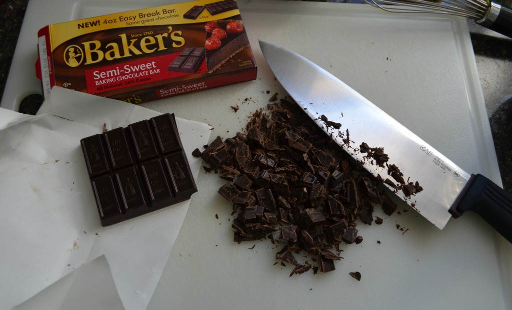Bakers Chocolate Chopped