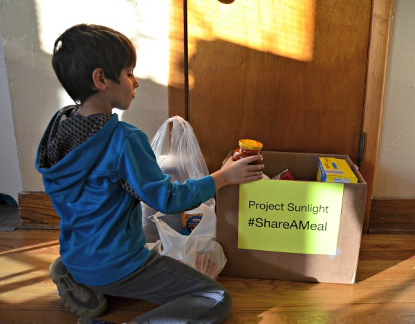Project Sunlight #ShareaMeal Food Drive