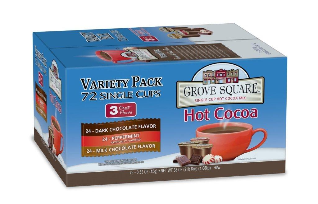 amazon grove square hot cocoa k cups