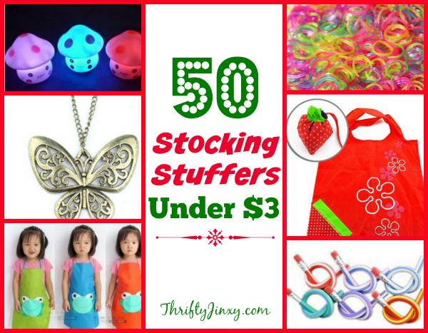 50 Stocking Stuffers Under $3