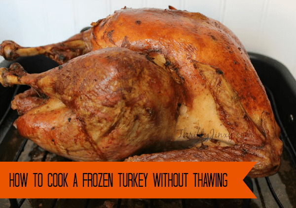 Cooked Frozen Turkey without Thawing