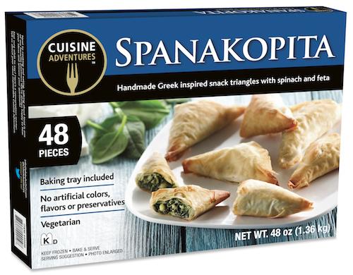 Cuisine Adventures Spanokopita