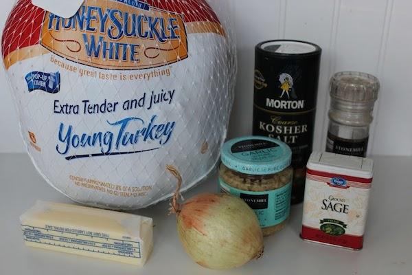 Frozen Turkey Ingredients