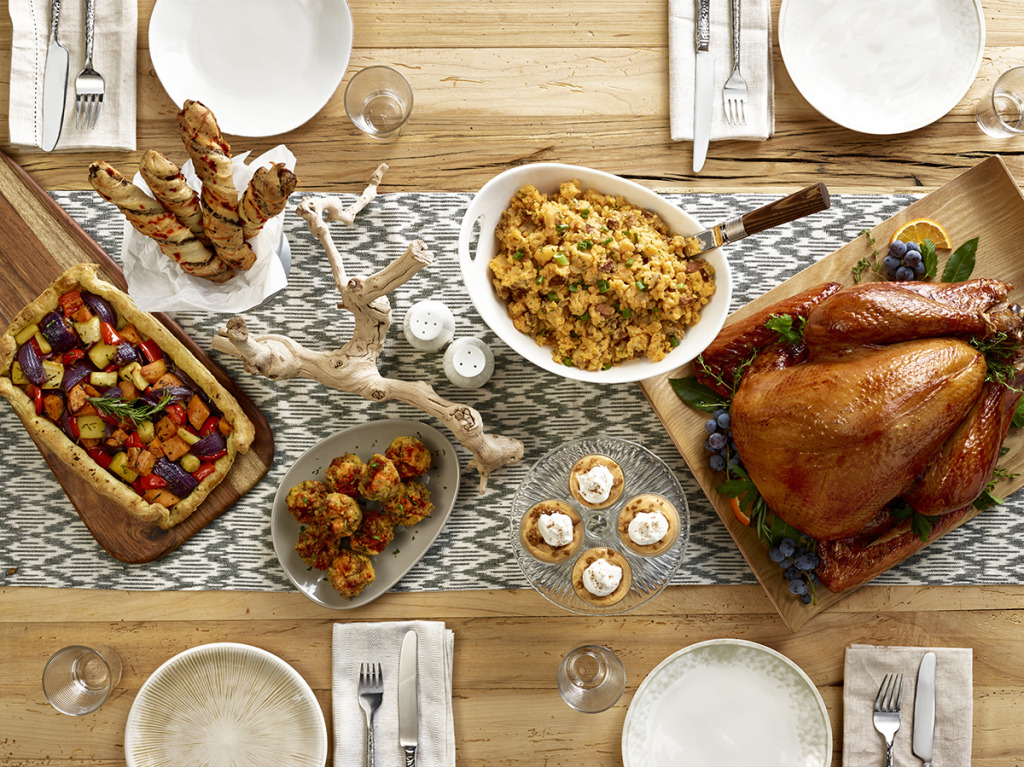Jennie-O Modern Thanksgiving Menu
