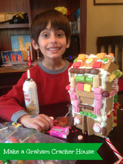 Make a Graham Cracker House with Honey Maid