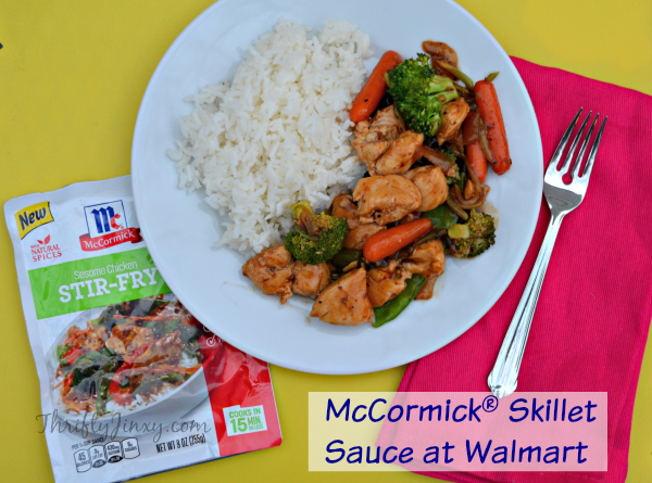McCormick® Sesame Chicken Stir-Fry Skillet Sauce at Walmart