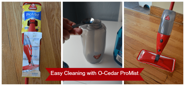 O-Cedar ProMist #CleanForTheHolidays #CollectiveBias