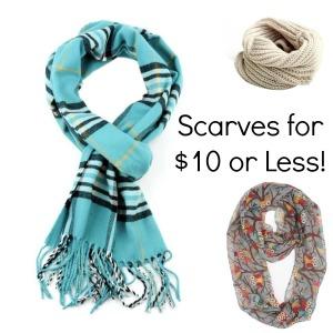 Scarves on Amazon