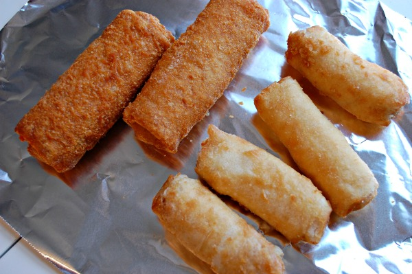 Tai Pei Egg Rolls and Spring Rolls Preparation