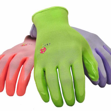 Women's Garden Gloves, nitrile coated