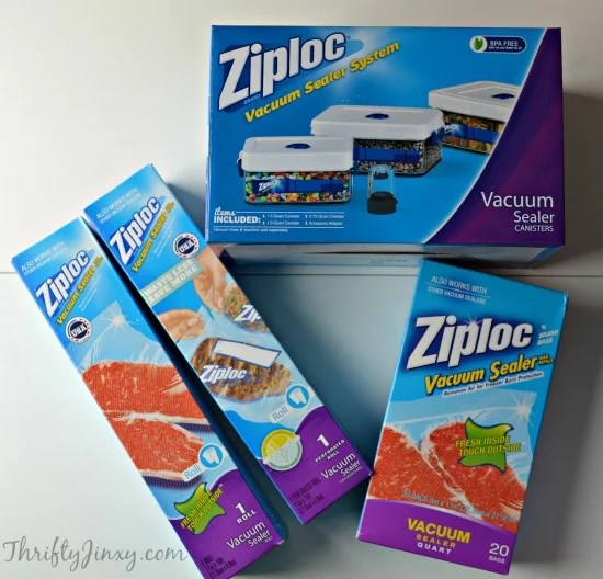 Ziploc Canisters