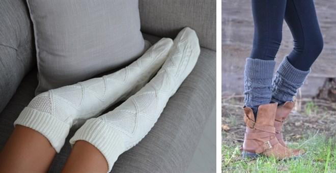 jane thigh high socks