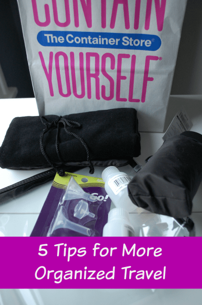 5 Tips for More Organized Travel
